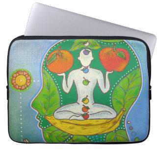 Vegan yoga computer cover laptop computer sleeves