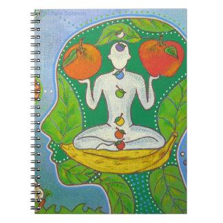 Vegan Yoga fruits Note Books
