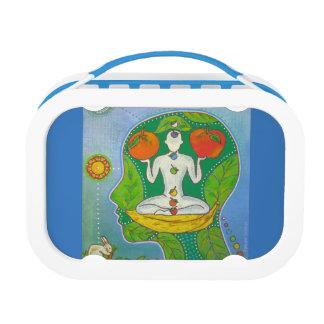Vegan yoga lunch box