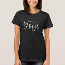Vegan Yogi Yoga Fan T-Shirt