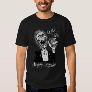 Vegan Zombie Black T-shirt