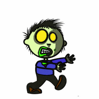 Vegan Zombie Pin Photo Statuette