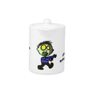 Vegan Zombie Tea/Coffee Pot Teapot