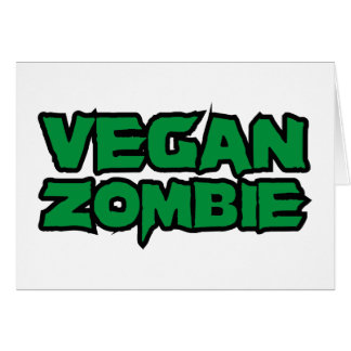 Vegan Zombies Card