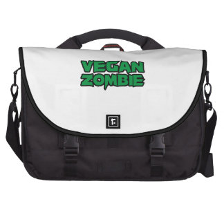 Vegan Zombies Laptop Bags