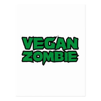 Vegan Zombies Postcard