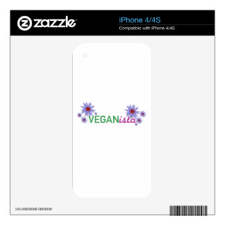 Veganista iPhone 4 Skins
