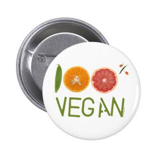 """"""" Vegano 100% de m I Pins"""