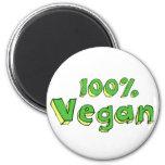 Vegano 100% imán para frigorifico