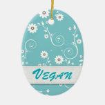 Vegano Adorno De Navidad