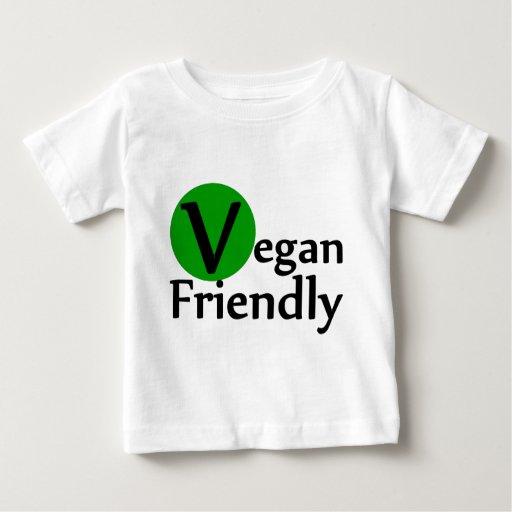 Vegano amistoso playeras