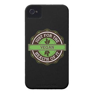 Vegano apenas para la salud de ella Case-Mate iPhone 4 cárcasa