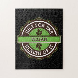 Vegano apenas para la salud de ella rompecabeza
