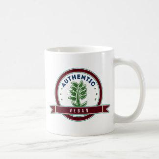 Vegano auténtico taza
