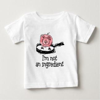 Vegano/camiseta vegetariana del bebé playera de bebé