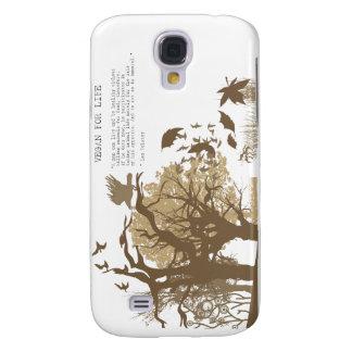 Vegano - cita de Tolstoy Funda Samsung S4