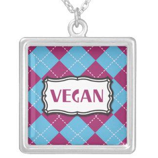 Vegano Colgante Cuadrado