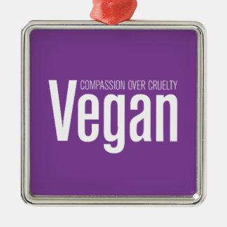 Vegano Compasión sobre crueldad Adorno De Navidad