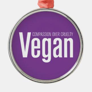 Vegano Compasión sobre crueldad Adorno Para Reyes