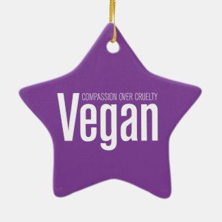 Vegano Compasión sobre crueldad Ornaments Para Arbol De Navidad