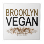 Vegano de Brooklyn Azulejo