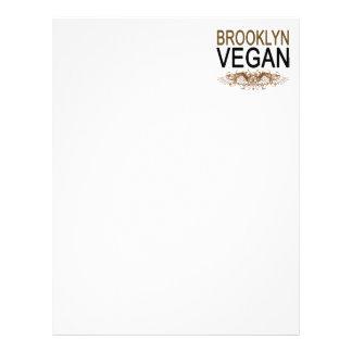Vegano de Brooklyn Membrete A Diseño