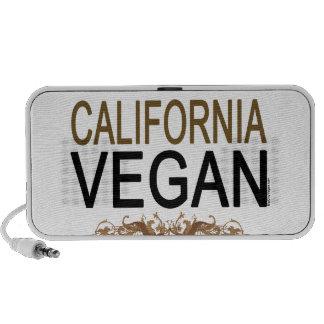 Vegano de California Laptop Altavoces