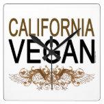 Vegano de California Reloj