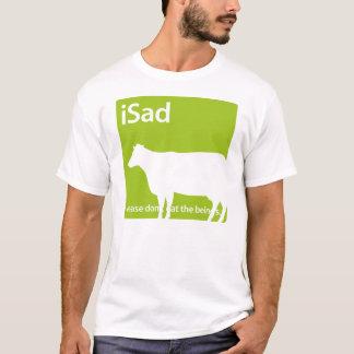 vegano de la vaca del iSad o camiseta del