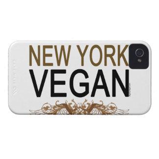 Vegano de Nueva York iPhone 4 Case-Mate Fundas