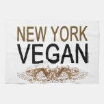 Vegano de Nueva York Toallas De Mano