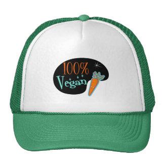 Vegano del 100 por ciento gorros bordados