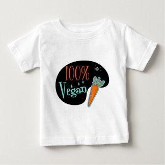 Vegano del 100 por ciento tee shirts