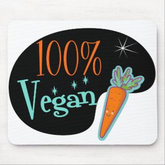 Vegano del 100 por ciento mouse pads