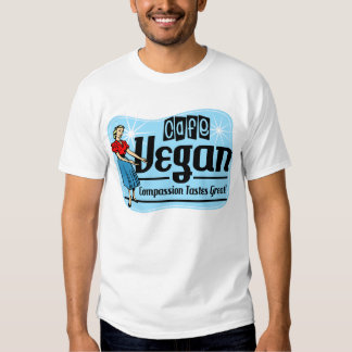 Vegano del café playera
