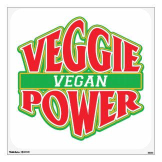 Vegano del poder del Veggie