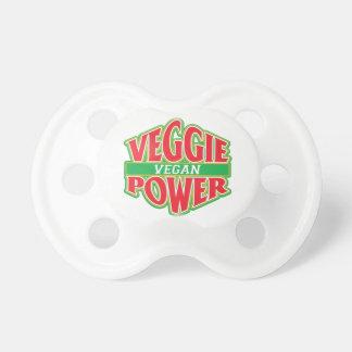 Vegano del poder del Veggie Chupetes