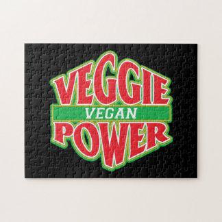 Vegano del poder del Veggie Puzzles Con Fotos