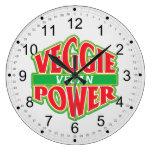 Vegano del poder del Veggie Relojes