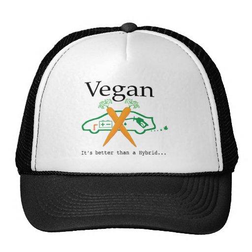 Vegano - es mejor que un híbrido gorros