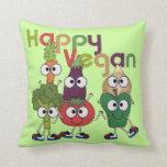 Vegano feliz almohada