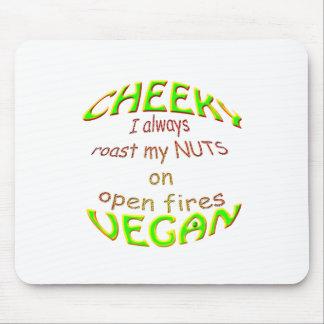 vegano fresco aso siempre mis nueces en los fuegos tapetes de raton