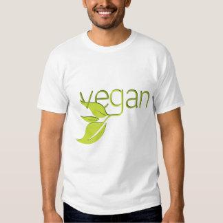 Vegano frondoso remera