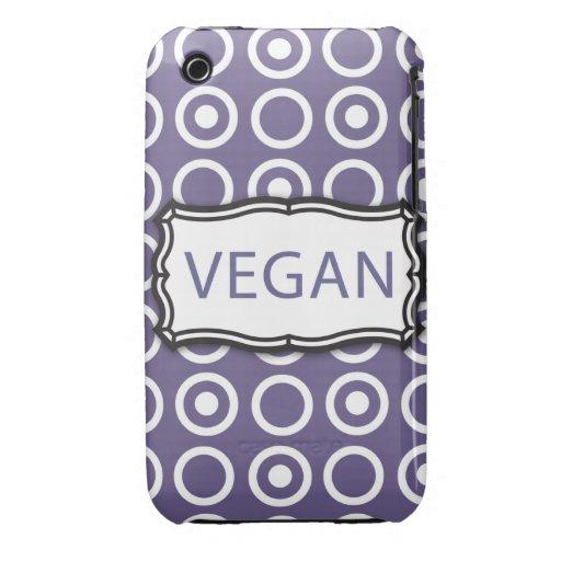 Vegano iPhone 3 Cobreturas