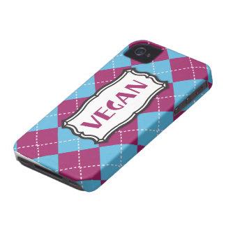 Vegano iPhone 4 Carcasas