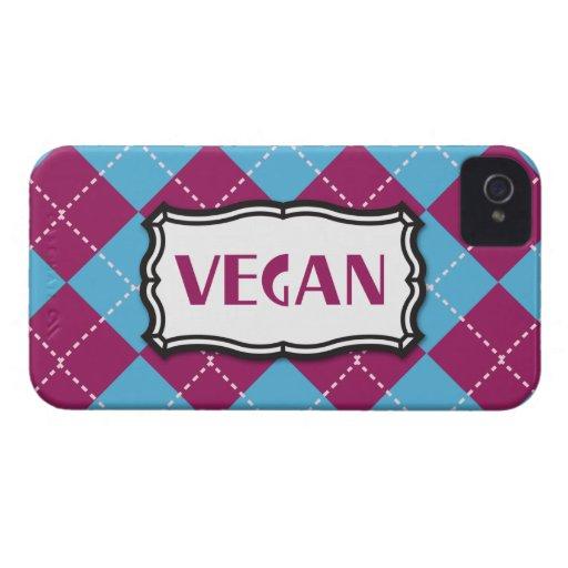 Vegano iPhone 4 Case-Mate Carcasas