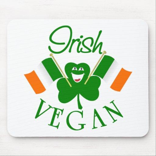 Vegano irlandés Mousepad