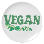 Vegano irlandés plato de cena