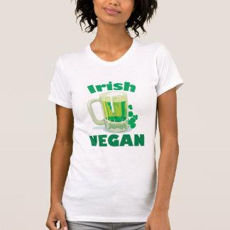 Vegano irlandés playeras
