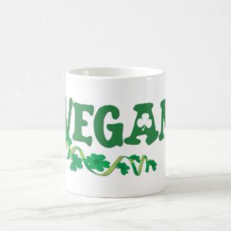 Vegano irlandés taza
